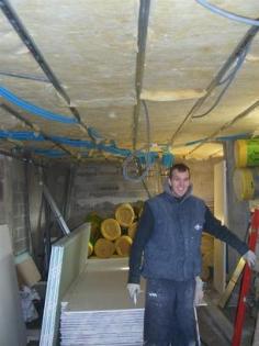 Rénovation BBC : laine minérale