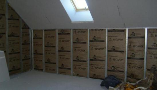 Isolation par l'intérieur maison BBC : mise en oeuvre