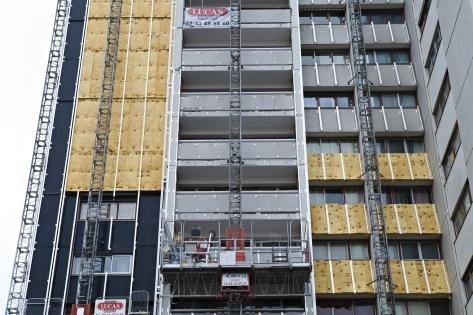 Réno Tour Super Montparnasse : Isolation des façades avec Isofaçade 32 et 35