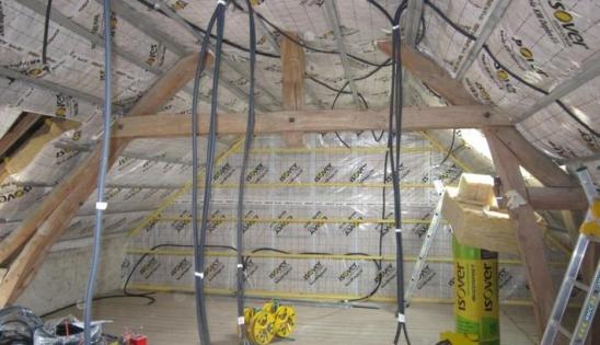 Rénovation et isolation des combles aménagés
