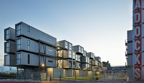 Am nagement containers en logement isolation par l 39 int rieur for Conteneur appartement