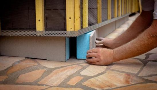 chantier d 39 isolation par l 39 ext rieur r novation d 39 une maison. Black Bedroom Furniture Sets. Home Design Ideas