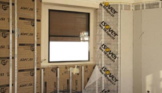 Rénovation d'un bâtiment en immeuble BBC - isolation par l'intérieur