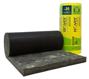 Isofa ade noir 35r for Laine de verre semi rigide