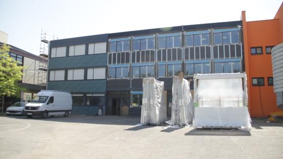 Réhabilitation Façade du Collège Guyard : vue extérieure