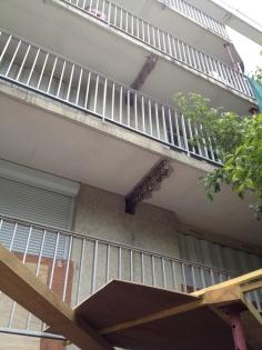 Isolation thermique logement collectif : Bâtiment avant travaux