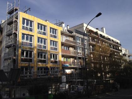 Isolation thermique par l'extérieur en logements collectif avec Isofaçade