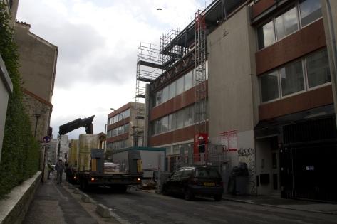 Surélévation d'un immeuble à Montreuil