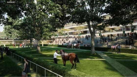 Le nouvel hippodrome de Longchamp