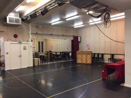 La salle de répétition avant travaux