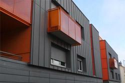 Façade des bâtiments collectifs : solution Isofaçade