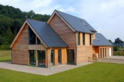 Les solutions d'isolation acoustique En murs de maisons à ossature bois en neuf