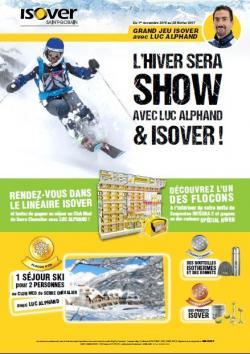 L'hiver sera Show avec ISOVER !