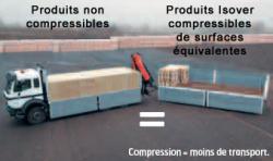 Un isolant compressé pour des transports optimisés