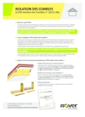 <h6>DTA 20/12-266 : isolation des combles</h6>
