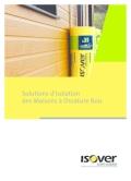 <h6>Solutions d'isolation des Maisons à Ossature Bois</h6>