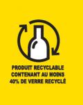 Une laine de verre recyclable