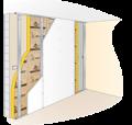 Isolation acoustique murs maçonnés : Optima Murs