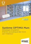 <h6>Système Optima Murs : le doublage thermo-accoustique de référence</h6>