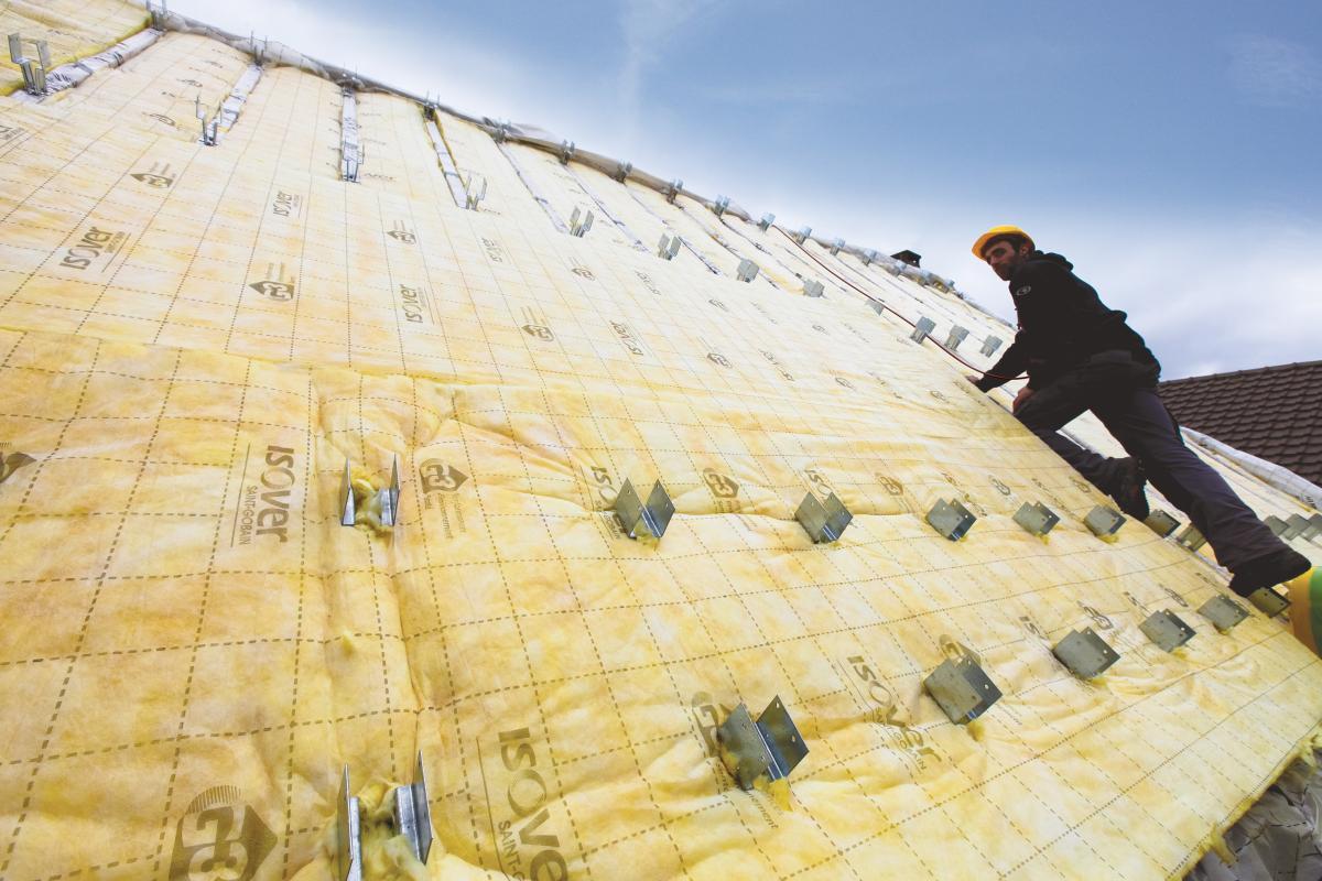 Isolation de la toiture par l ext rieur avantages for Isolation par exterieur