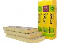 Isolation des cloisons en résidentiel : laine de verre GR 32 Revêtu Kraft