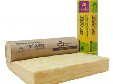 Isolation des combles aménagés : laine Isoconfort 32 Revêtu Kraft